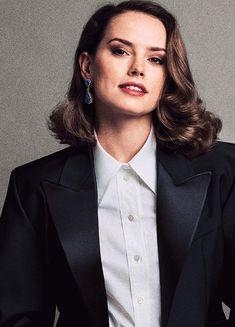 Daisy Ridley for V Magazine