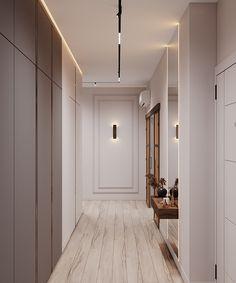 Apartment in Kazan, Russia.What: Apartment Room Door Design, Wall Design, House Design, Apartment Projects, Apartment Interior, Girl Bedroom Designs, Living Room Designs, Condominium Interior, Wardrobe Door Designs