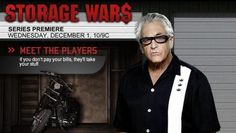 Barry Weiss from Storage Wars...  This guy is a CHARACTER!