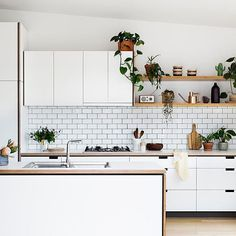 Browse photos of modern kitchen designs. Discover inspiration for your minimalist kitchen remodel or upgrade with ideas for storage, organization, layout and . Kitchen Design Small, Kitchen Remodel, New Kitchen, Home Kitchens, Modern Kitchen Design, Minimalist Kitchen, Rustic Kitchen, Kitchen Renovation, Kitchen Design