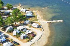 Campingplatz Orsera - Campingplatz an der Küste