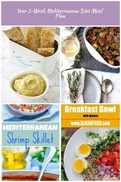 mediterranean-diet-snack mediterranean diet Your 1-Week Mediterranean Diet Meal Plan