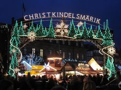 #Christmas Market in Strasbourg, #France #www.frenchriviera.com