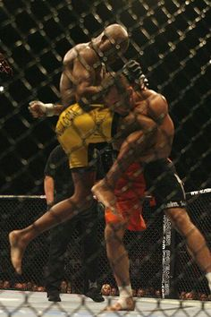 Anderson Silva. The most dominate MMA fighter in the business. and the master of whoppin ass