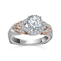 Go ahead and take a chance. Ask her.  How could she say no? | Valina Bridals www.mcgeejewelers.com