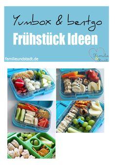 Yumbox und Bentgo Bento Frühstück Ideen für Kinder / Schule / Kita