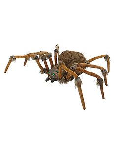 2 Ft Brown Wolf Spider - Decorations - Spirithalloween.com