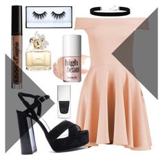 """Untitled #25"" by mattie-mill on Polyvore featuring Wander Beauty, Boohoo, Lanvin, 2028, NYX, Huda Beauty, Benefit, Marc Jacobs, Givenchy and cute"