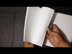 cara membuat buku drawing sendiri - Make a Sketchbook - YouTube