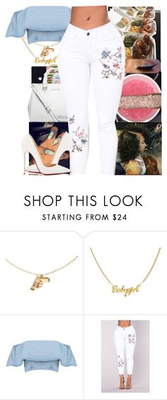 """""""I probably shouldn't be around you"""" by simbaismyname on Polyvore featuring Chupi, Boohoo and Christian Louboutin"""