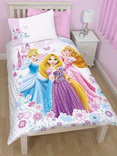 Disney Princess Dreams Single Duvet Cover - Bedding Set. Matching items at Play Rooms