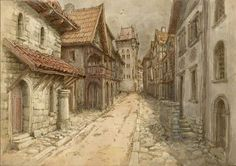 Medieval town by Hetman80 on DeviantArt