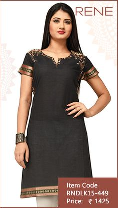#Black #SouthCotton #Kurti #Fashion #Apparels #Clothing #EthnicWear #Style #Women