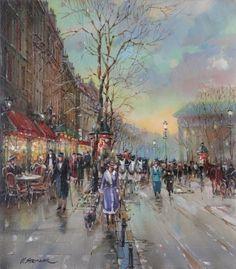 Pintor Vladimir Stroozer (