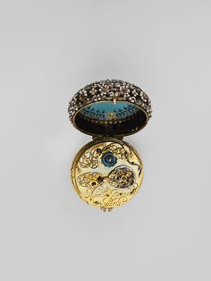 Watch (image 3) | Watchmaker: Nicholas Bernard | France; Paris | early 17th century | gold, enamel | Metropolitan Museum of Art | Accession #: 17.190.1622