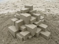 incredible sand castles are incredible / by calvin seibert, via mtchl