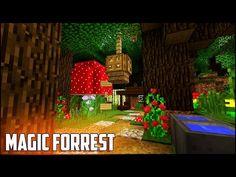 http://minecraftstream.com/minecraft-tutorials/minecraft-tutorial-how-to-make-a-magic-forrest-house-easy-compact-cute-survival-hobbit-home/ - Minecraft Tutorial: How To Make A Magic Forrest House   Easy