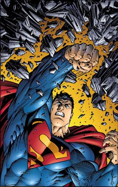 Superman by Dale Keown.