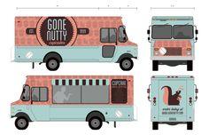 Animal Grid & Food Truck Branding by Elisa Martin, via Behance