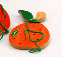 Black friday sale, Wooden lacing toy , Lacing Orange, Toddler Toy, Educational toy, Learning Toy, Christmas gift by Tinocchio on Etsy https://www.etsy.com/listing/123514200/black-friday-sale-wooden-lacing-toy
