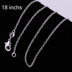 8078d4af33 jewelry necklace Picture - More Detailed Picture about FREE SHIPPING!  Wholesale 925 sterling sliver jewelry necklace 1MM