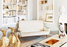 """Laurel Loves 7: Rooms that Have the """"Midas Touch"""", Laurel & Wolf, via My Domaine"""