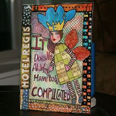 Art Journalling 101: Why art journal? from tangiebaxter.com