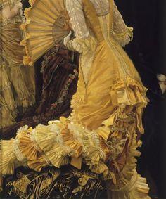 James Tissot, Le Bal (detail)