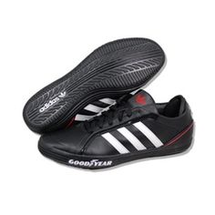 ADIDAS Men Goodyear Driver Vulc in Black/White/Red.  Style: G44892.  These are a very popular casual shoe that are so comfortable!  Don't miss out on the deal we have for these.