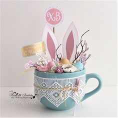 64 Ideas For Diy Decorations Easter Projects Easter 2018, Easter Party, Easter Gift, Hoppy Easter, Easter Bunny, Easter Eggs, Easter Projects, Easter Crafts, Spring Crafts