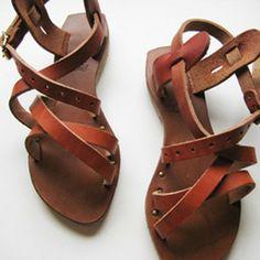 Image of Womens Roman Sandals by Roberta Settels   375