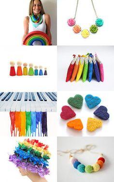 Rainbow --Pinned with TreasuryPin.com
