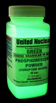 Europium UltraGlow® Powder - GRANULAR GREEN