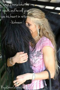 Bonding spiritually with a horse is like nothing else on earth. ❤