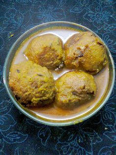 Easy Cooking and More: Shrimp Kofta curry - A Delicious Party Recipe