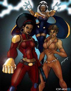Misty Knight, Storm and Vixen