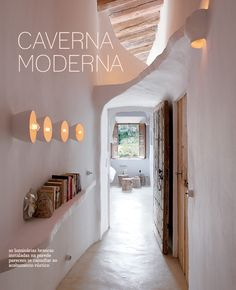 modern cave | white decor