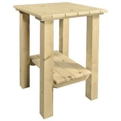 Need a Rustic End Table? We offer a wide variety of unique rustic end tables at a fair price. Shop Our Collection Today. End Tables For Sale, Cool Tables, Deck Chairs, Deck Benches, Westerns, Rustic End Tables, Wood Design, Barn Wood, Homesteading