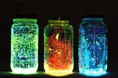 Sei mal im Mittelpunkt mit diesen WUNDERSCHÖNEN 'Glow in the dark' Gläser (Geheimtipp)