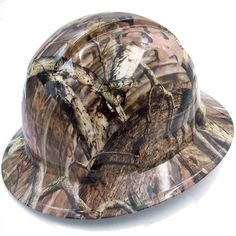 Best custom hydrographic hydro dipped badass hard hats on the market Mossy Oak Camo, Hard Hats, Bad To The Bone, Cover Design, Baseball Hats, Safety, Canada, Free Shipping, Check
