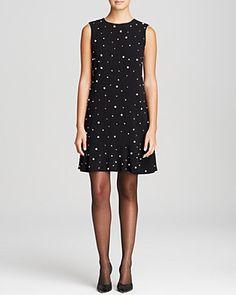 kate spade new york Embellished Drop Waist Dress | Bloomingdale's