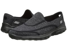 SKECHERS Performance Go Walk 2 - Supersock Black - Zappos.com Free Shipping BOTH Ways