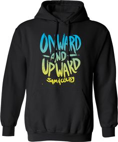 ONWARD AND UPWARD BY SAM AND COLBY SWEATER on The Hunt