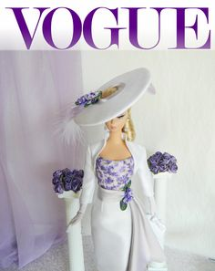 *Love, April*~OOAK Spring Fashion for Silkstone Barbie/Royalty~Joby