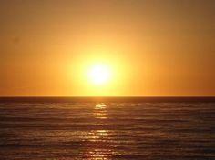 Sunset on beach in San Diego vhowardjr