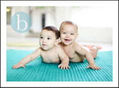 Out-Takes From 6 Month Old Twins »