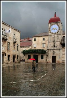Trogir, Хорватия.