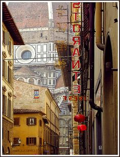View of the Duomo, Florence