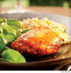 Lime-Honey Glazed Chicken from @WebMD