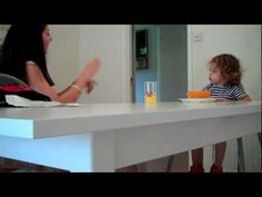 deaf toddler has a signed conversation with her mom